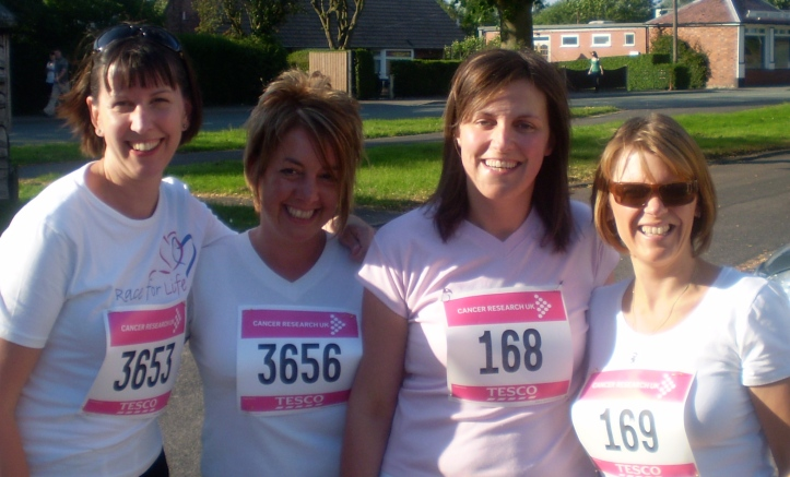 Race for life - Cancer Research UK