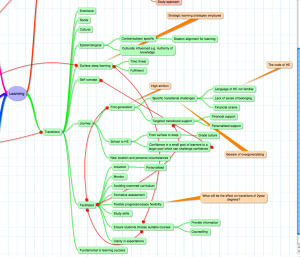 concept map screen shot (section on transitions)