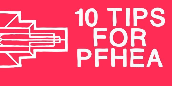 10 tips pfhea